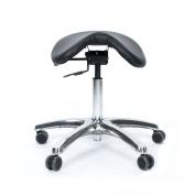 Fully Adjustable Saddle Stool - Ergonomic Stool Designed To Help Relieve Back -