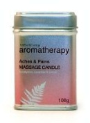 Natures Way Aroma Massage Candle - Aches & Pains 226g