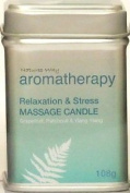 Natures Way Aroma Massage Candle - Relax & Stress - 108g