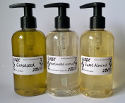 250ml Sweet Almond Oil & 250ml Grapeseed Oil & 250ml Fractionated Coconut With -