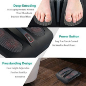 Enpee Deluxe Shiatsu Relaxing Foot Massager With 18 Deep Kneading Nodes And Heat