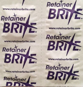 Retainer Brite Sample X 20 Tablets, Cleaning Dental Braces Guards & Trays