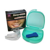 Mouth Guard For Teeth Grinding, Bruxism, Tmj And Clenching. Self Mouldable