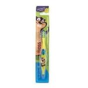Brush Baby Flossbrush 3-6 Years Toothbrush Colour May Vary
