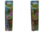 ** Moshi Monsters Toothbrush With Cap Various Colours New * Travel Tooth Brush