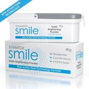 Somatox Smile - Teeth Brightening Powder - With Active Pearl Technology •