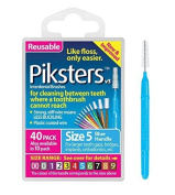 Erskinedental Piksters For Cleaning Between Teeth-size 5 Blue- 40pk