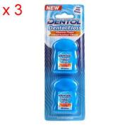 Dentol Dental Floss - Twin Pack X 3