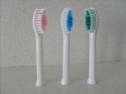 Replacement Toothbrush Heads For Prozone Sonic Toothbrush + Facial Cleansing Duo