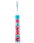 New Philips Sonicare Hx6311/07 Childrens Pink Rechargeable Toothbrush For Girls