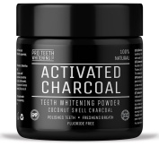 Activated Charcoal Natural Teeth Whitening Powder By Pro Teeth Whitening Co |...