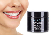 Pure T Smile 100% Natural Activated Charcoal Powder Teeth Whitener Toothpaste