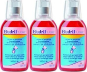 Twelve Packs Of Eludril Classic Mouthwash 500ml