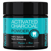 Activated Charcoal Natural Teeth Whitening Powder - 100% Money Back Guarante...