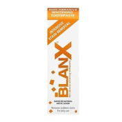 Three Packs Blanx Intensive Stain Removal Non-abrasive Whitening Toothpaste 75ml