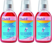 Six Packs Of Eludril Classic Mouthwash 500ml