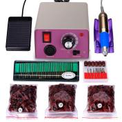 25,000 Rpm Professional Electric Nail Drill File Kit, Finger Toe Nail Care Set