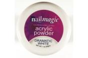 Nail Magic Acrylic Powder 30g-dramatic White