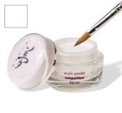 Dream Acrylic Nails Powder, Fast Set, Natural White, 22gm