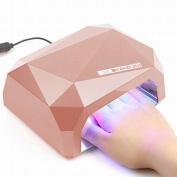 Y & s Pro 36w Nail Dryer Led Lamp Light For Uv Led Gel Polish(#champa