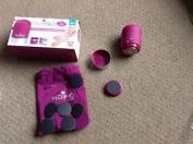 Jml Pedi Pro Deluxe Portable Electronic Pedicure Feet Treatment Beauty Pink