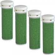 Extreme Coarse Micro Mineral Green Replacement Rollers Compatible With Emjoi Mic