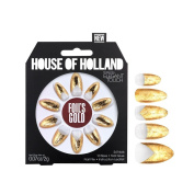 House Of Holland False Nails - Foils Gold