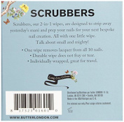 Butter London Nail Scrubbers Prep And Remover Wipes