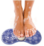 Shower Bath Foot Massager Scrub Exfoliator Sole Cleaner Feet Pumice Stone