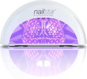 Nailstar Professional Led Nail Dryer Nail Lamp For Gel Polish With 30sec, 60sec