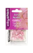 City Chick Just Artificial Nails French Manicure Pink