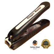 Premium Nail Clippers For Finger And Toe Nails Carbon Steel Reinforced Heavy