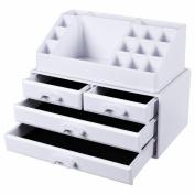 Songmics Makeup Organiser Acrylic Bathroom Storage Box Jka0010