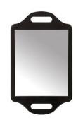 Matty Bond Street Hairdressing Beauty Salon Mirror With Twin Handle Black