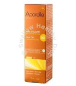 Acorelle 100% Natural Sun Gel Spf30 30ml Invisible Uva Uvb