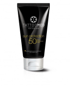 Tattoomed Sun Protection Spf50 100ml - Tattoo Sun Protection, Colour Protection,