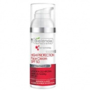 Bielenda Professional High Protection Face Cream Spf 50 & Pa++ 50ml