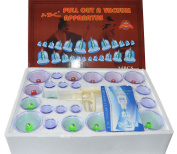 Feibrand 24 Pcs Message Vacuum Suction Cupping Set With 12 Magnetic Head