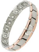 Smarter Lifestyle Elegant Titanium Magnetic Therapy Bracelet Pain Relief For...