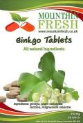 Ginkgo Biloba All Natural Tablets 30 X 750mg Free Letterbox Friendly Uk Post