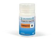 Schuessler Tissue Salts Combination H - 125 Tablets