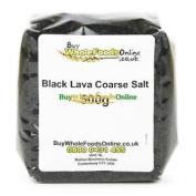 Black Lava Coarse Salt 500g