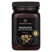Watson And Son Manuka Honey - Mgs 5+ - 500g