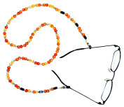 Magnetic Glasses Specs Chain Holder With Crystal Magnets Therapy Design Craft