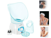 Livivo Blue Facial Steamer Spa Pores Steam Sprayer Skin Beauty Face Mist Cleaner