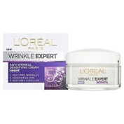 Dermo Expertise L'oreal Paris Wrinkle Expert 55 Plus Night Cream, 50 Ml. Free Sh