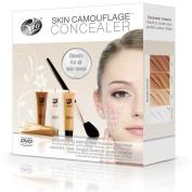 Rio Skin Camouflage Concealer Tattoo Scar Blemish Covering Blending Make-up Kit