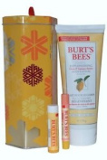 Burts Bees Naturally Gifted Set Body Lotion, Lip Balm And Lip Shimmer