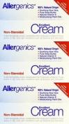 Three Packs Of Allergenics Non-steroidal Emollient Cream 50ml