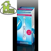 Sonic Toothbrush And Facial Cleansing System.sonic Care For Teeth Face.white...